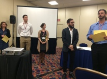 Graduate Student Paper Competition Prize at the APLA business meeting.