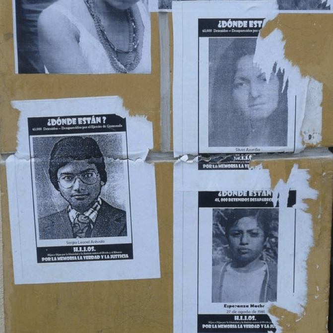 """Donde lo tienen?"" Working in an archive of the disappeared in Guatemala"