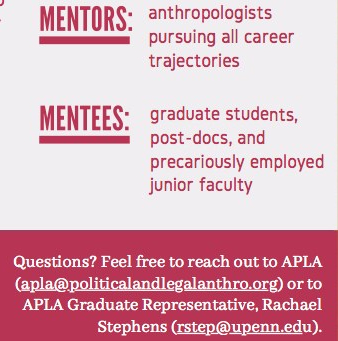 Recruiting: APLA Junior-Senior Mentoring