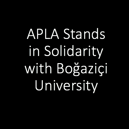 APLA's Statement on Academic Freedom in Turkey